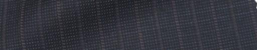 【IB_7s056】ダークブルーグレーピンチェック+1.4cm巾赤・グレー交互ストライプ