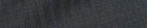 【IB_7s060】ダークグレー柄+6ミリ巾ブルーストライプ