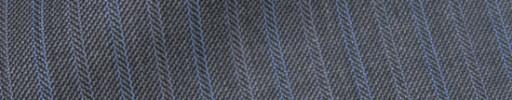【IB_7s061】グレー柄+1.3cm巾ブルー・パープル交互ストライプ