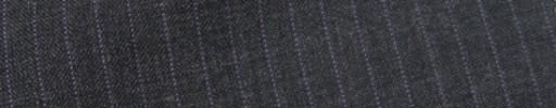 【IB_7s065】チャコールグレー+5ミリ巾パープルストライプ