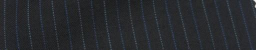 【IB_7s068】ブラック+1cm巾ブルー・ライトブルー交互ストライプ