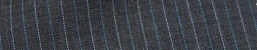 【IB_7s069】ミディアムグレー+1cm巾ライトブルー・白交互ストライプ