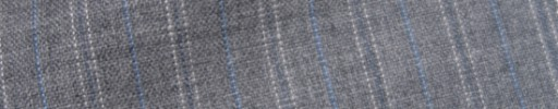 【IB_7s075】ライトグレー+1.5cm巾ブルー・白Wドット交互ストライプ