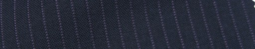 【IB_7s089】ネイビー+5ミリ巾パープルストライプ