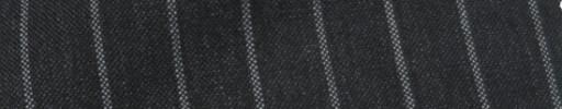 【IB_7s096】チャコールグレー+1.2cm巾ワイドストライプ