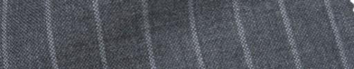 【IB_7s097】ミディアムグレー+1.2cm巾ワイドストライプ