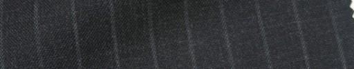 【IB_7s130】チャコールグレー+9ミリ巾ストライプ