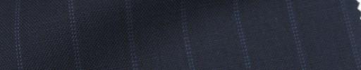 【IB_7s132】ネイビー+1.5cm巾ライトブルードットストライプ