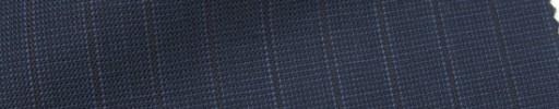 【IB_7s136】ブルーグレーピンチェック+9ミリ巾エンジ・織りストライプ