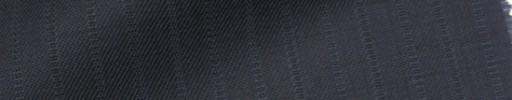【IB_7s147】ダークブルーグレー+1.3cm巾織り交互ストライプ