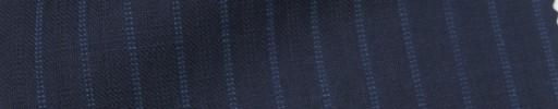 【IB_7s153】ネイビー+7ミリ巾ブルーWドットストライプ
