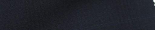 【IB_7s179】ダークネイビーチェック+6.5×5.5cmダークブルーウィンドウペーン