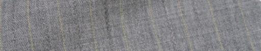 【IB_7s180】ライトグレー+1cm巾ライトイエロー・柄交互ストライプ