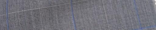 【IB_7s183】グレージュ+4.5×4cmブルー・ホワイトオーバープレイド