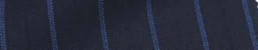 【IB_7s193】ネイビー+1.8cm巾ブルー・織り交互ストライプ