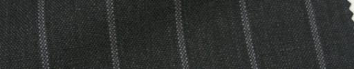 【IB_7s194】チャコールグレー+1.8cm巾白・織り交互ストライプ