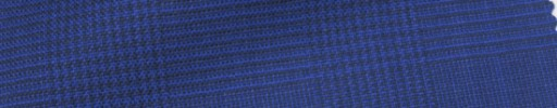 【IB_7s198】ブルーパープル5.5×4.5cmグレンチェック