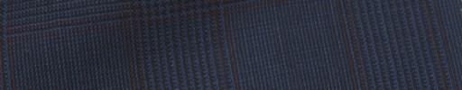 【IB_7s204】ダークブルーグレー6×4.5cmグレンチェック+エンジプレイド