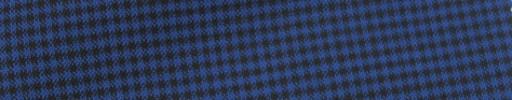 【IB_7s205】ブルー×ブラック2ミリミニチェック