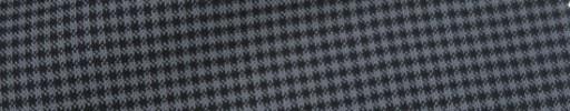 【IB_7s206】グレー×ブラック2ミリミニチェック