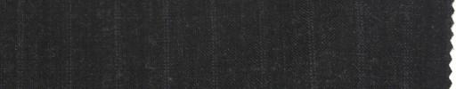 【La_ss03】チャコールグレー+1cm巾グレードット+黒交互ストライプ