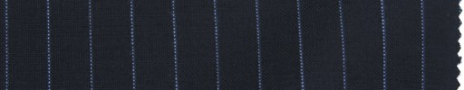【La_ss04】ネイビー+9ミリ巾ライトブルーストライプ