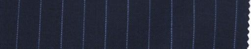 【La_ss05】ライトネイビー+9ミリ巾ライトブルーストライプ