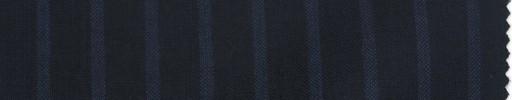 【La_ss06】ダークネイビー+1cm巾ワイドブルーストライプ