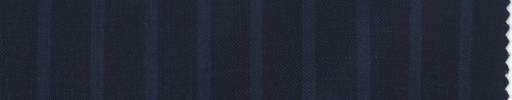 【La_ss07】ネイビー+1cm巾ワイドブルーストライプ