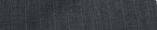 【Miy_c7s21】ミディアムグレー+1.1cm巾ドット・織り交互ストライプ