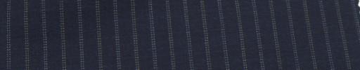 【Miy_c7s26】ネイビー+1.3cm巾ブルー×白Wドット交互ストライプ