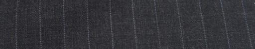 【Miy_c7s34】チャコールグレー+1.1cm巾ストライプ