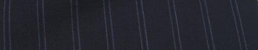 【Miy_c7s35】ダークネイビー+1.6cm巾白Wドット・パープル織り交互ストライプ