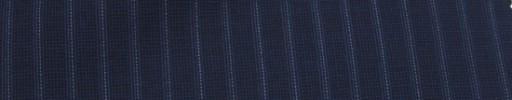 【Miy_c7s43】ライトネイビー+7ミリ巾白・ブルードットストライプ