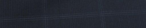 【Miy_c7s47】ダークブルーグレーグレンチェック+6×5cmブルー・白ウィンドウペーン