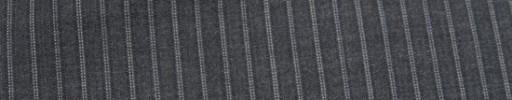 【Miy_c7s66】ミディアムグレー+5ミリ巾白ドット・織りストライプ