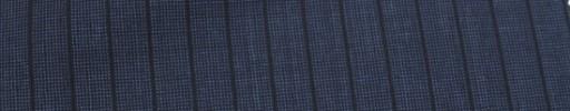 【Miy_c7s67】ネイビーピンチェック+8ミリ巾黒ストライプ