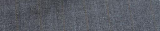 【Miy_c7s77】ライトブルーグレー柄+1.9cm巾ライトブラウン・織り交互ストライプ