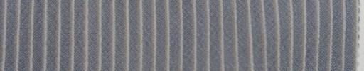 【Mjt_7s08】ブルーグレー+5ミリ巾白・ブラウンストライプ