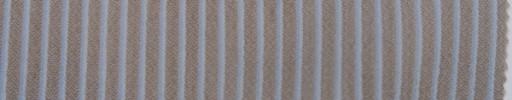 【Mjt_7s09】ライトブラウン+5ミリ巾白・ライトブルーストライプ