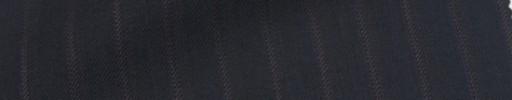 【Sb_Ness13】ダークネイビー+1cm巾レッドブラウン・ロープドストライプ