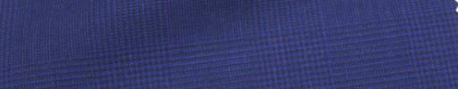 【Hr_Mys15】パープル5.5×4.5cmグレンチェック