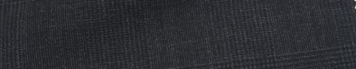 【Hr_Mys17】チャコールグレー5.5×4.5cmグレンチェック