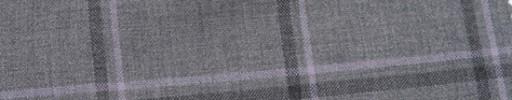 【Hr_Mys41】ライトグレー+5.5×4.5cm黒・ピンクオーバープレイド