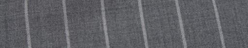 【Hr_Mys44】ミディアムグレー+2cm巾ワイドストライプ
