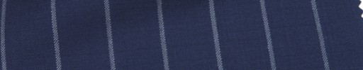 【Hr_Mys46】ネイビー+2cm巾ワイドストライプ
