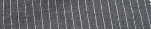 【Hr_Mys50】ミディアムグレー+6ミリ巾ストライプ