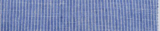 【Oz_ss01】ライトブルー+2ミリ巾ストライプ