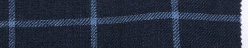 【Oz_ss03】ネイビー+5×4cmライトブルーウィンドウペーン