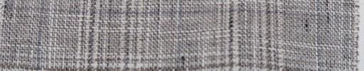 【Oz_ss08】グレージュ・ホワイト+6×5cmファンシープレイド